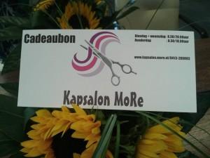 Cadeaubon MoRe foto